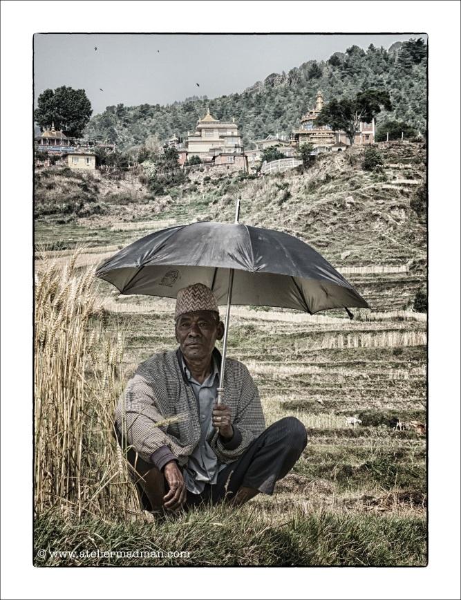 The Farmer - Pharping Nepal