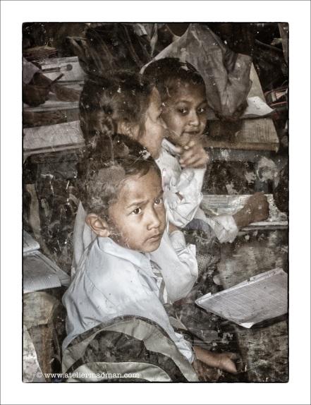 Children at School - Pharping Nepal