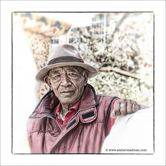 The Old Man - Pharping Nepal