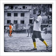 Monks football - Pharping Nepal