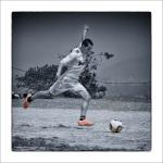 Monks Football atPharping