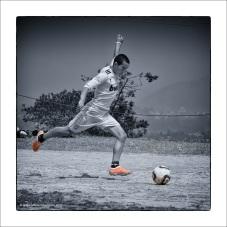 Monks Football at Pharping
