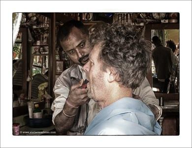 Pharping Nepal - The Barber