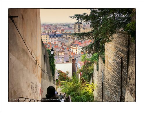 DescentL'ATELIER DE MADMAN – PHOTOGRAPHIE – LYONe depuis la Fourvière